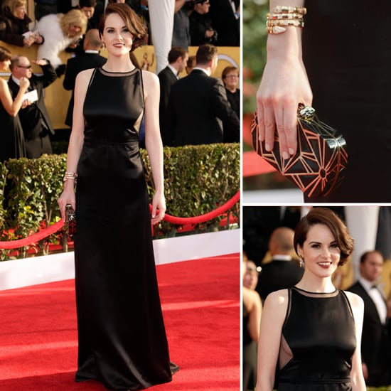 Michelle Dockery: SAG Awards Red Carpet Style