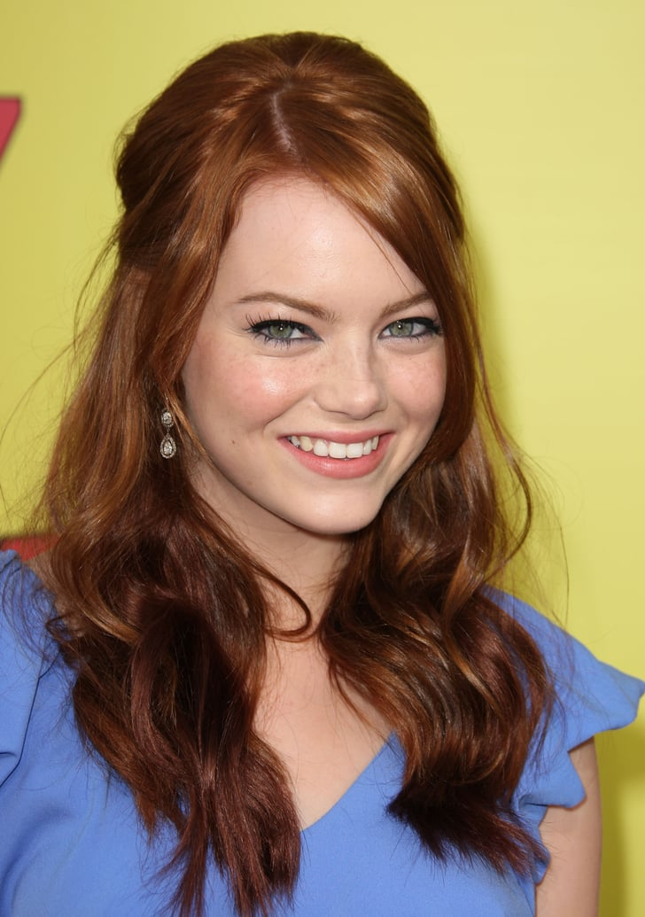 2007 Emma Stone Makeup Through The Years Pictures