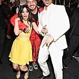 Pictured: Camila Cabello, J Balvin, and Ricky Martin