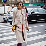 Style a Neutral Coat With a Pair of Suede Boots