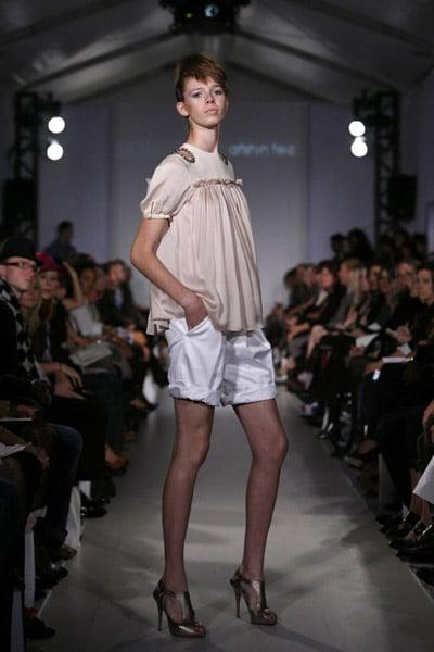 L'Oreal Toronto Fashion Week: Afshin Feiz Spring 2009