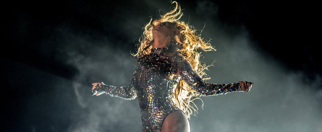 Pictures Of Beyonce Whipping, Tossing Her Long Hair On Stage