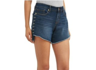 Side Studded Easy Short