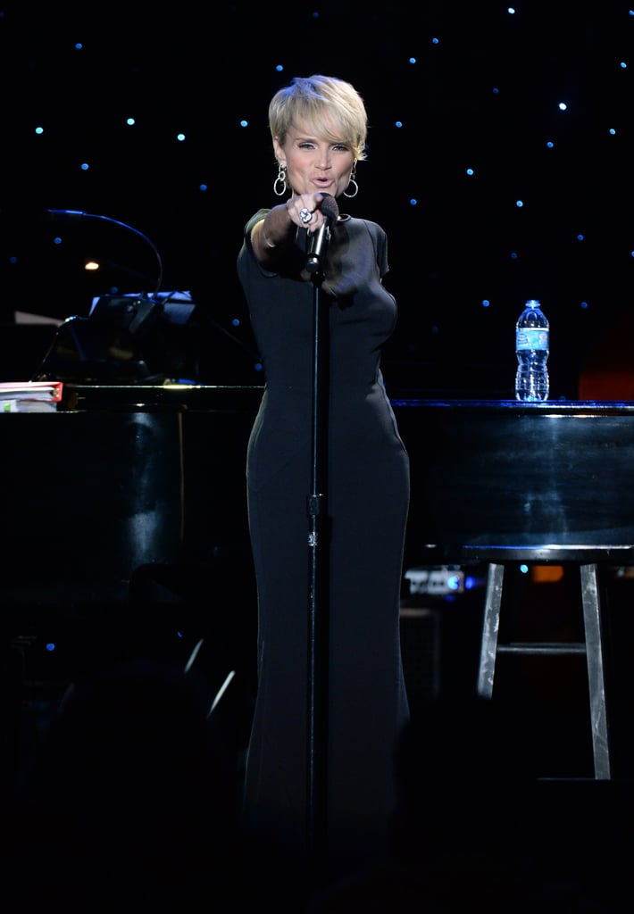 Kristin Chenoweth serenaded the audience.
