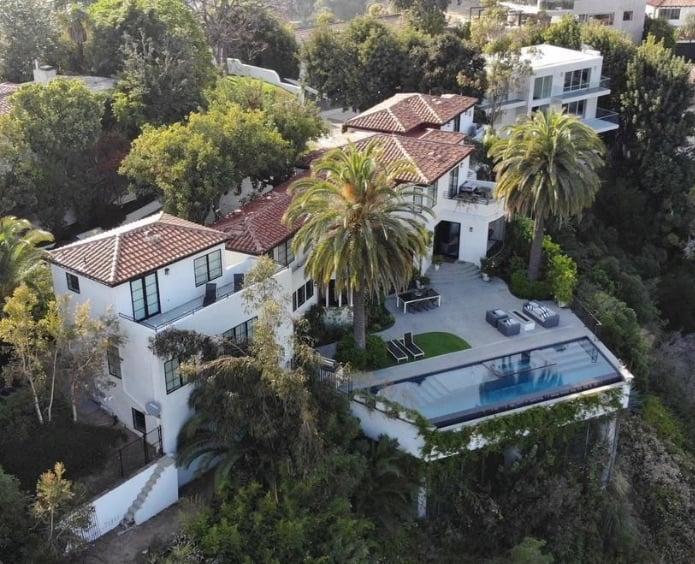 Louis Tomlinson Los Angeles Home Photos 2019