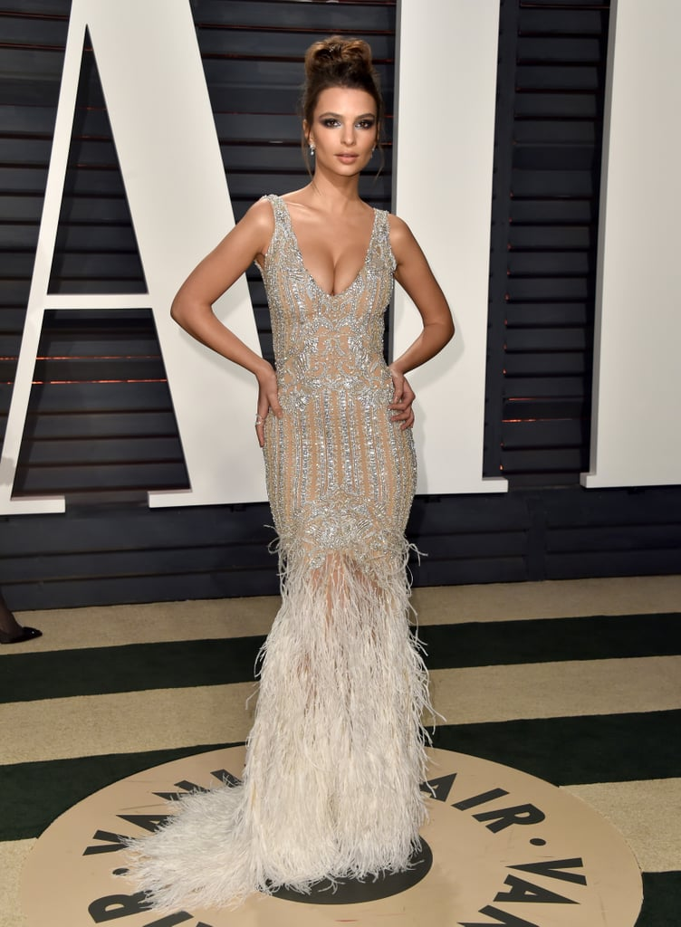 Models At The Oscars Afterparty 2017 Popsugar Fashion