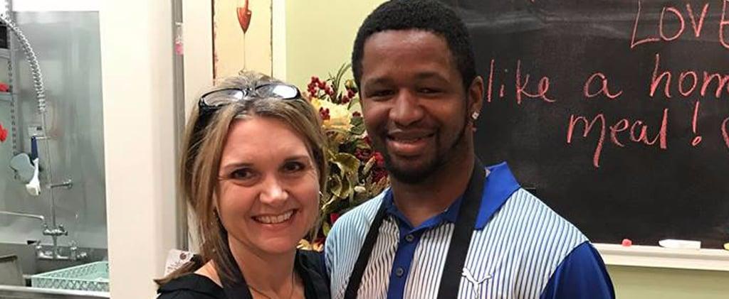 Texas Woman Saves Homeless Man