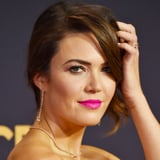 You Know You re Wondering What Mandy Moore s Bold Emmys Lipstick Is