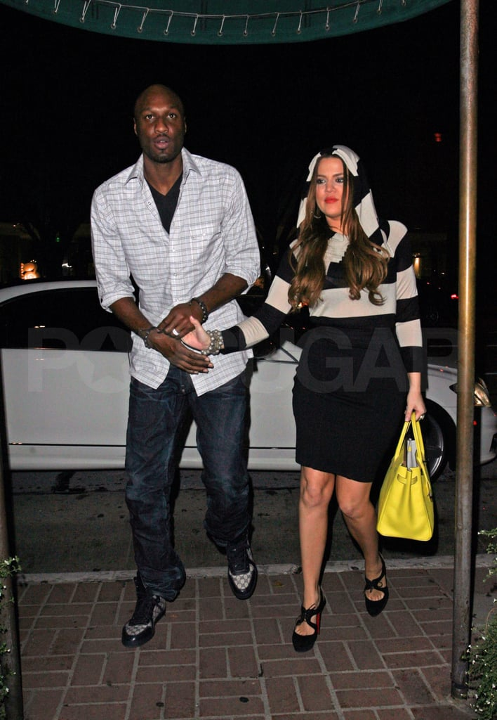 Eva, Eduardo, Khloe, and Lamar Follow Up Kim Kardashian's Wedding With a Double Date