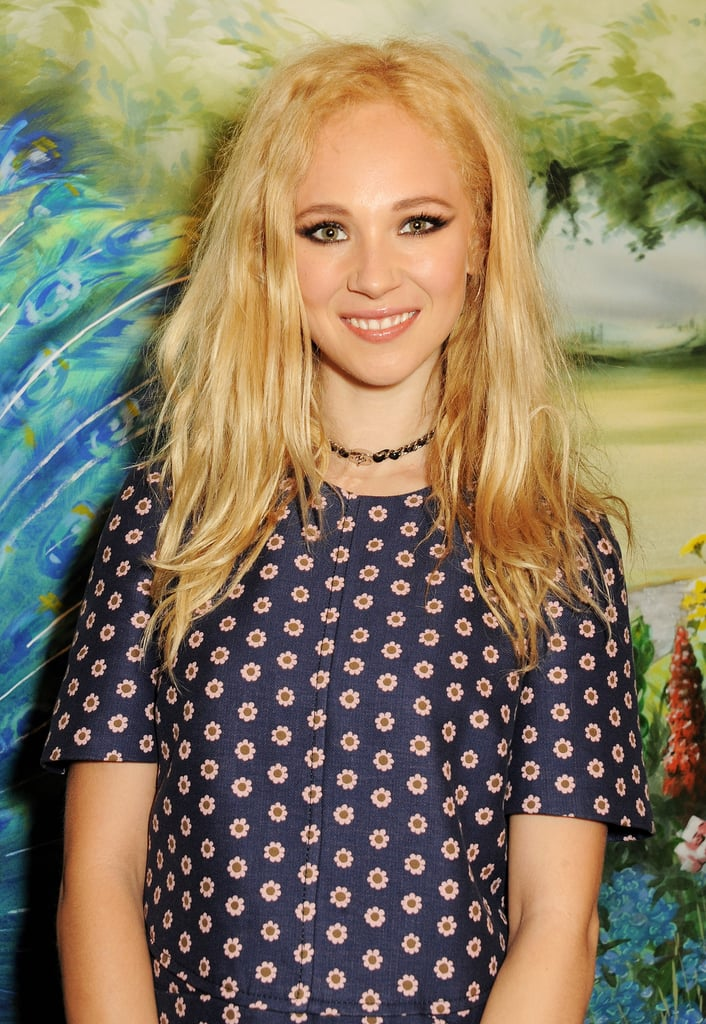 Juno Temple at Mulberry.