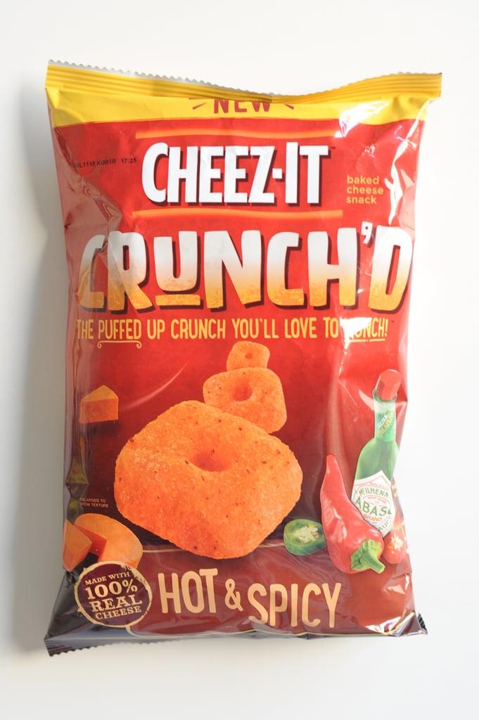 Cheez-It Crunch'd Hot & Spicy