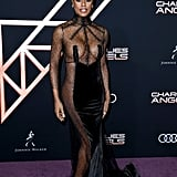 Laverne Cox at the Charlie's Angels Premiere