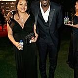 Idris Elba and Nalyana Garth grabbed Fiji waters.