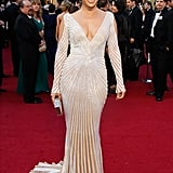 Jennifer Lopez at the 84th Annual Academy Awards