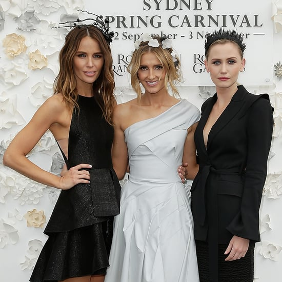 Spring Racing Celebrity Hair and Makeup