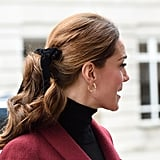 Kate Middleton's Velvet Bow Take Two, 2018