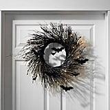 Lit Spooky Wreath