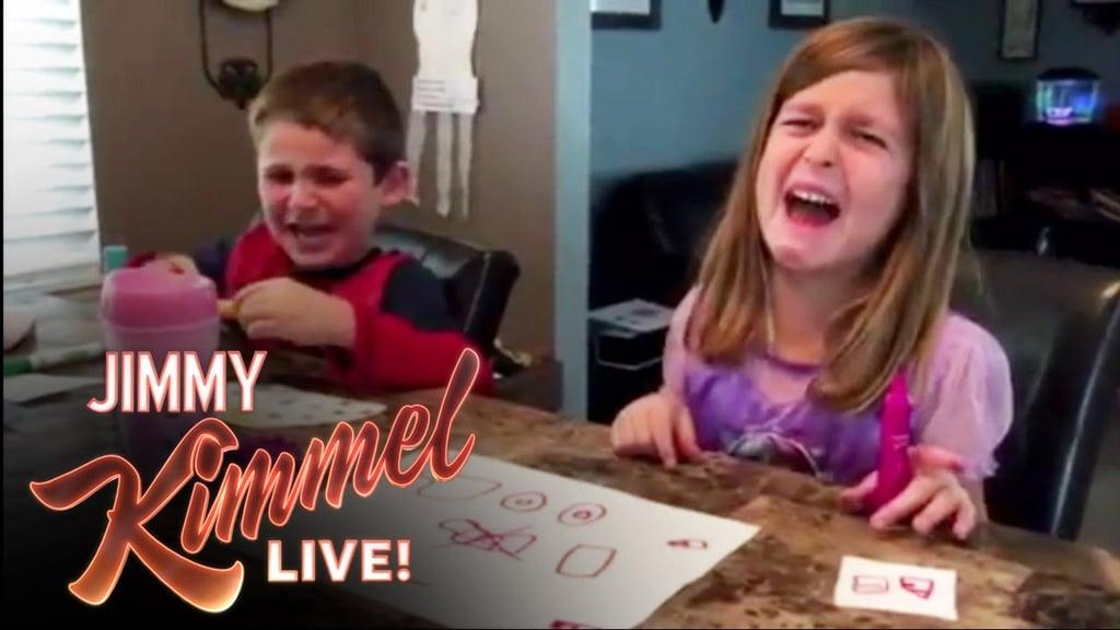 jimmy kimmels halloween candy prank videos popsugar moms - 2017 Halloween Candy