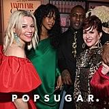 Pictured: Celebrities, Megan Mullally, Elizabeth Banks, Idris Elba, and Sabrina Dhowre