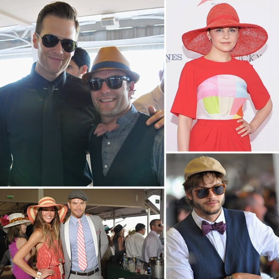 Tom Brady Pictures at Kentucky Derby