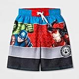 Boys' Avengers Swim Trunks