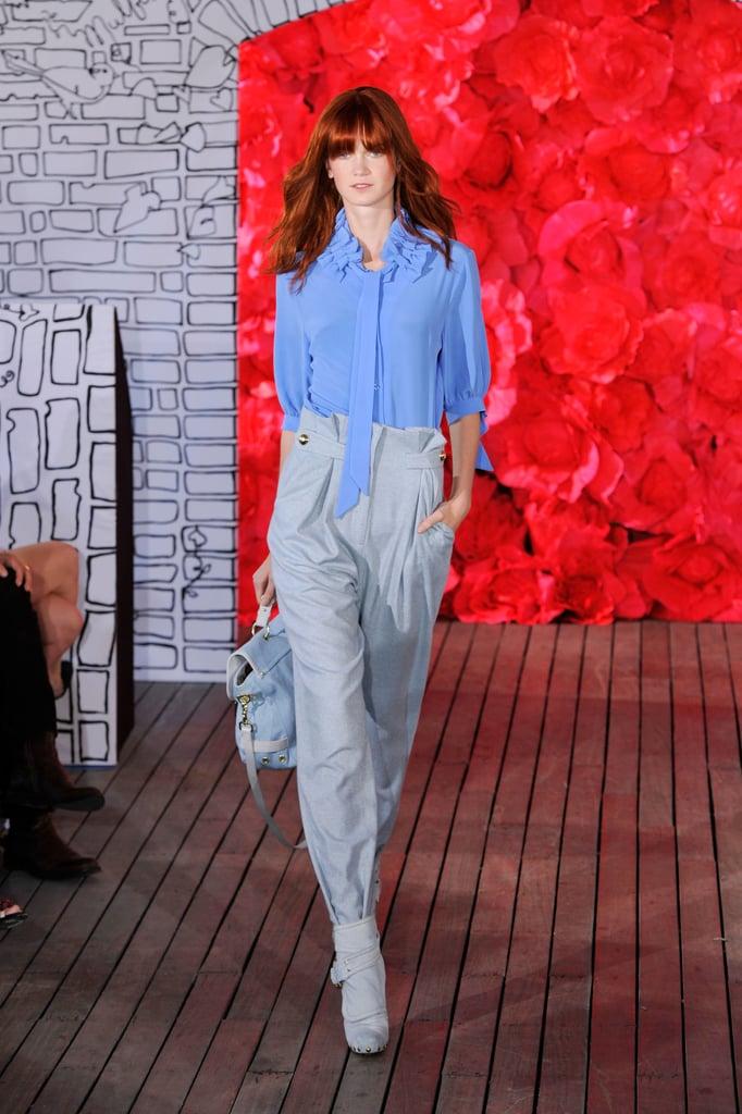 2011 Spring New York Fashion Week: Mulberry