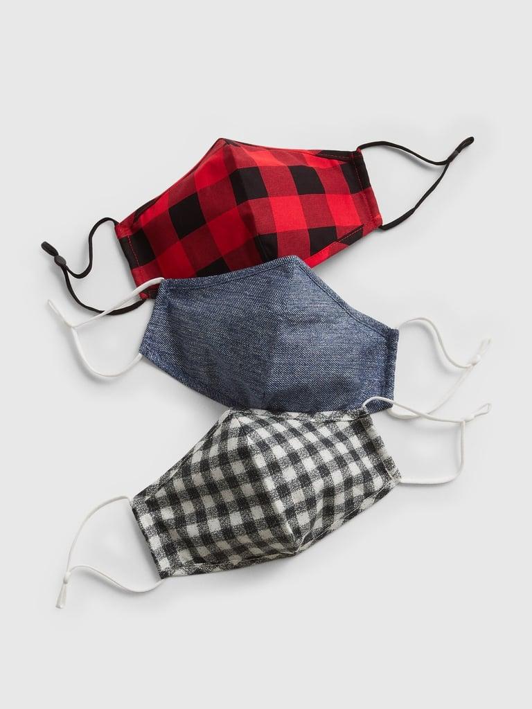 Gap Adult Contour Mask With Filter Pocket (3-Pack)