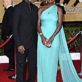 Julius Tennon and Viola Davis