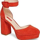 Topshop Ankle Strap Platform Sandals