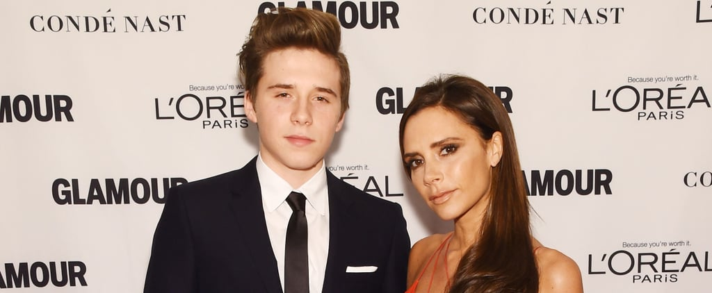 Brooklyn Beckham Makes His Love For Mum Victoria Permanent With a Classic Tattoo