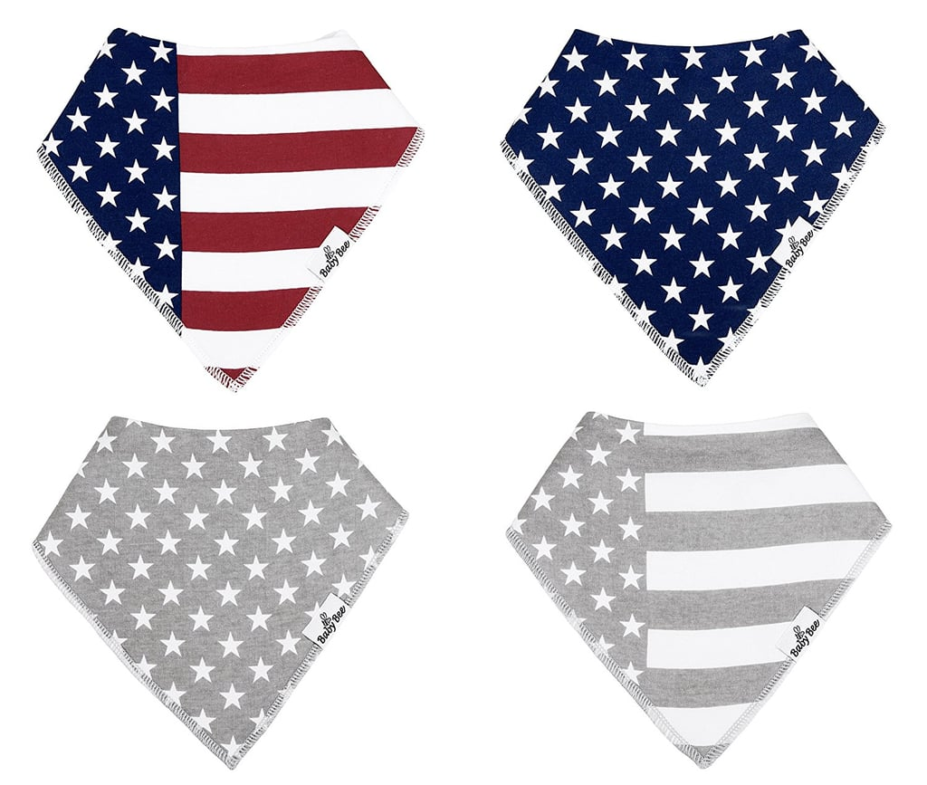 Stars and Stripes Bandana Bibs
