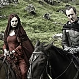 Stannis Baratheon and Melisandre
