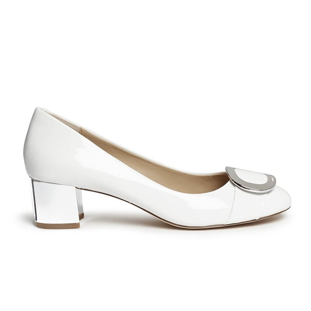 Michael Kors 'Pauline' Buckle Leather Pumps ($195)