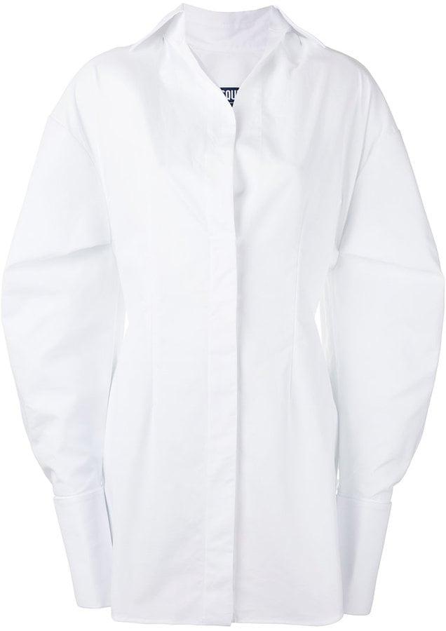 A Similar Jacquemus Shirt Dress