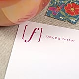 Initial Personalized Stationery Set