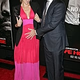 Molly Sims and husband Scott Stuber attended the NYC premiere of Safe House.