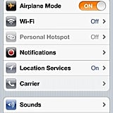 Switch Your Phone to Airplane Mode When You're at Your Kids' Events