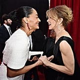 Pictured: Tracee Ellis Ross and Felicity Huffman