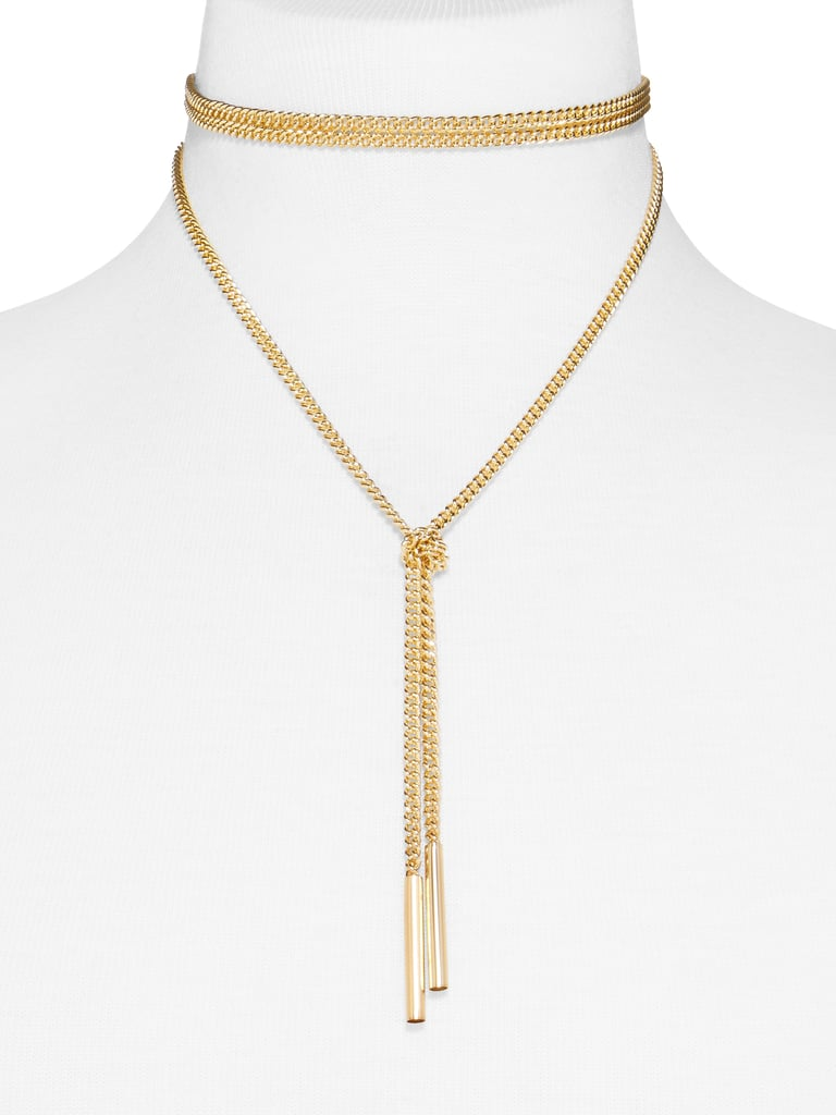 SugarFix by BaubleBar x Target Gold Wrap Choker Necklace