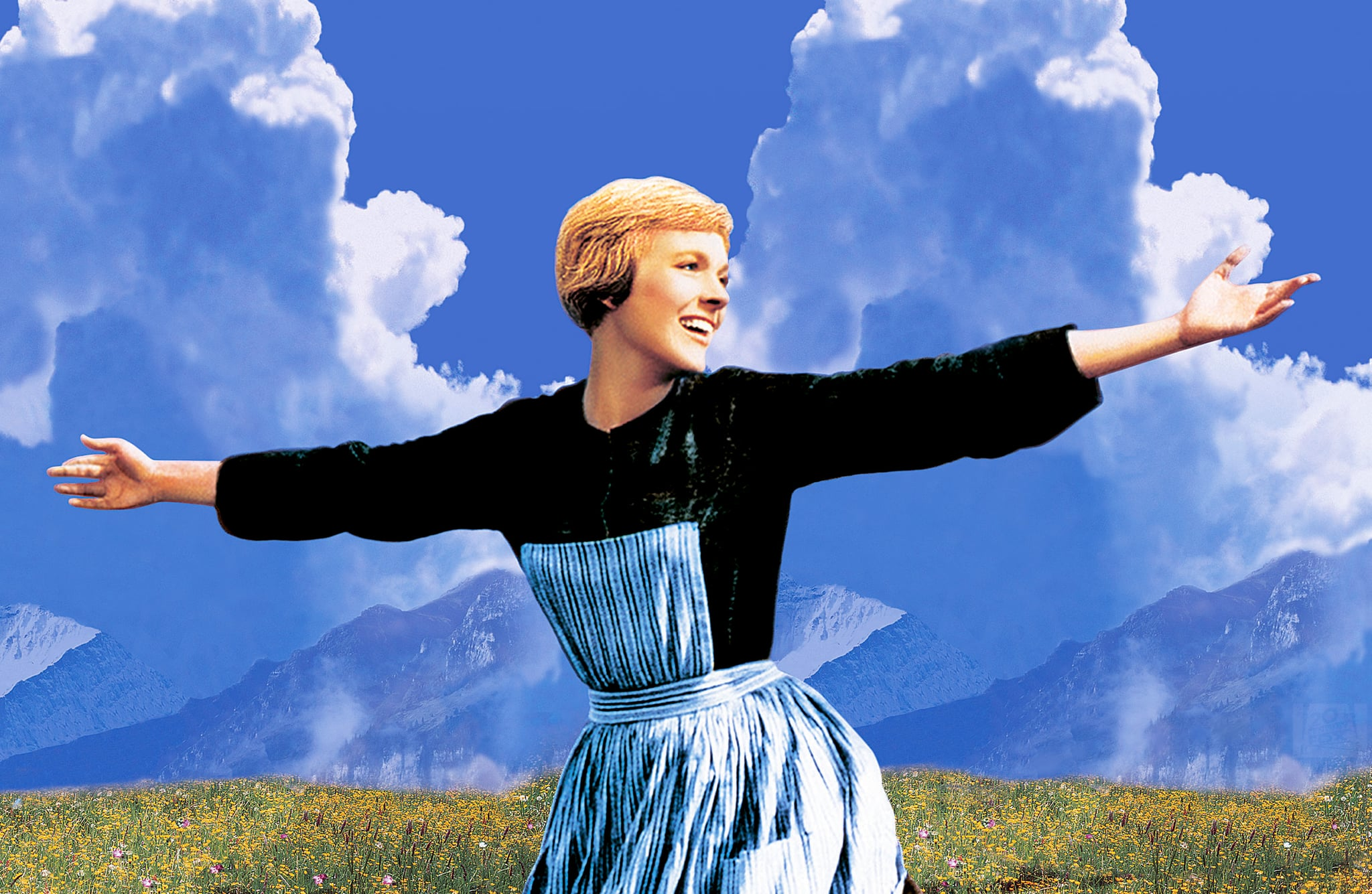 THE SOUND OF MUSIC, Julie Andrews, 1965. TM and Copyright  20th Century Fox Film Corp. All rights reserved. Courtesy: Everett Collection.