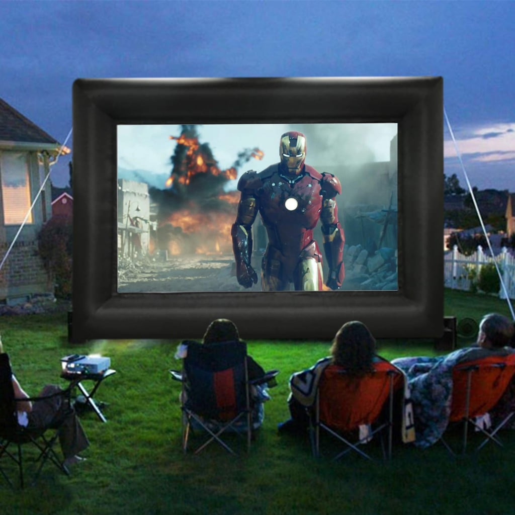 This 20-Foot Inflatable Screen Is Perfect For Outdoor Movies