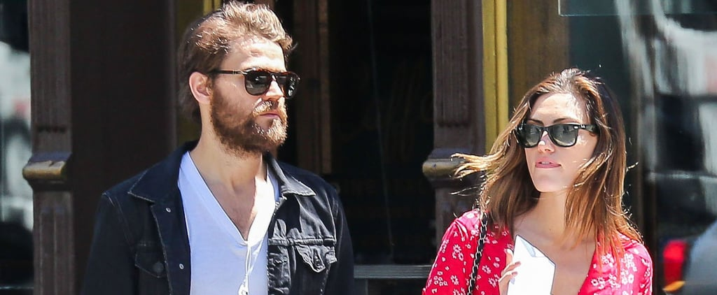 Paul Wesley and Phoebe Tonkin Have a Sweet Day Date in NYC