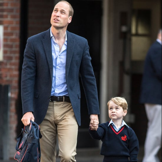 Prince William Talks About Prince George Going to School