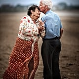Elderly Couples Pose For Engagement-Style Photo Shoots