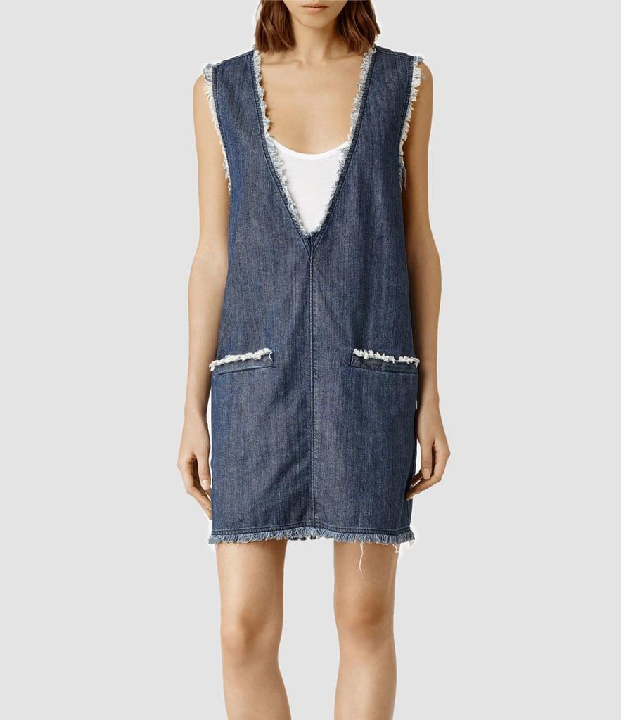 Allsaints Frayed Reika Dress (£98)
