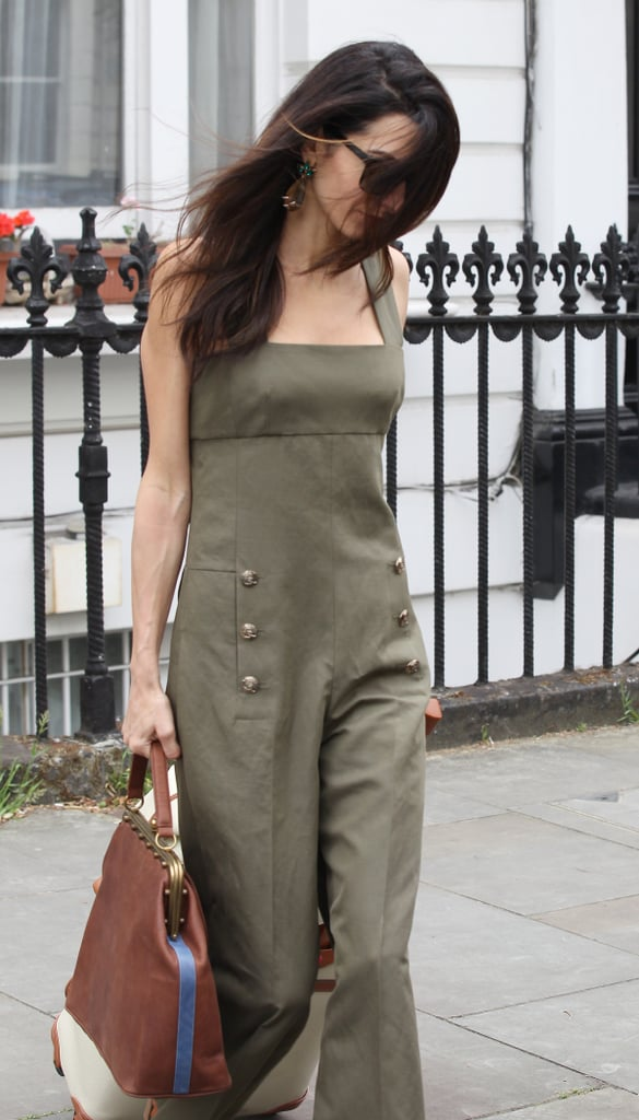 4b22df1d8f99 Amal Clooney Left London in Her Most Stylish Outfit Yet