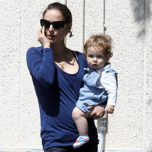 Natalie Portman Pictures in LA With Son Aleph Millepied