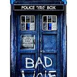 Bad Wolf TARDIS case ($25)