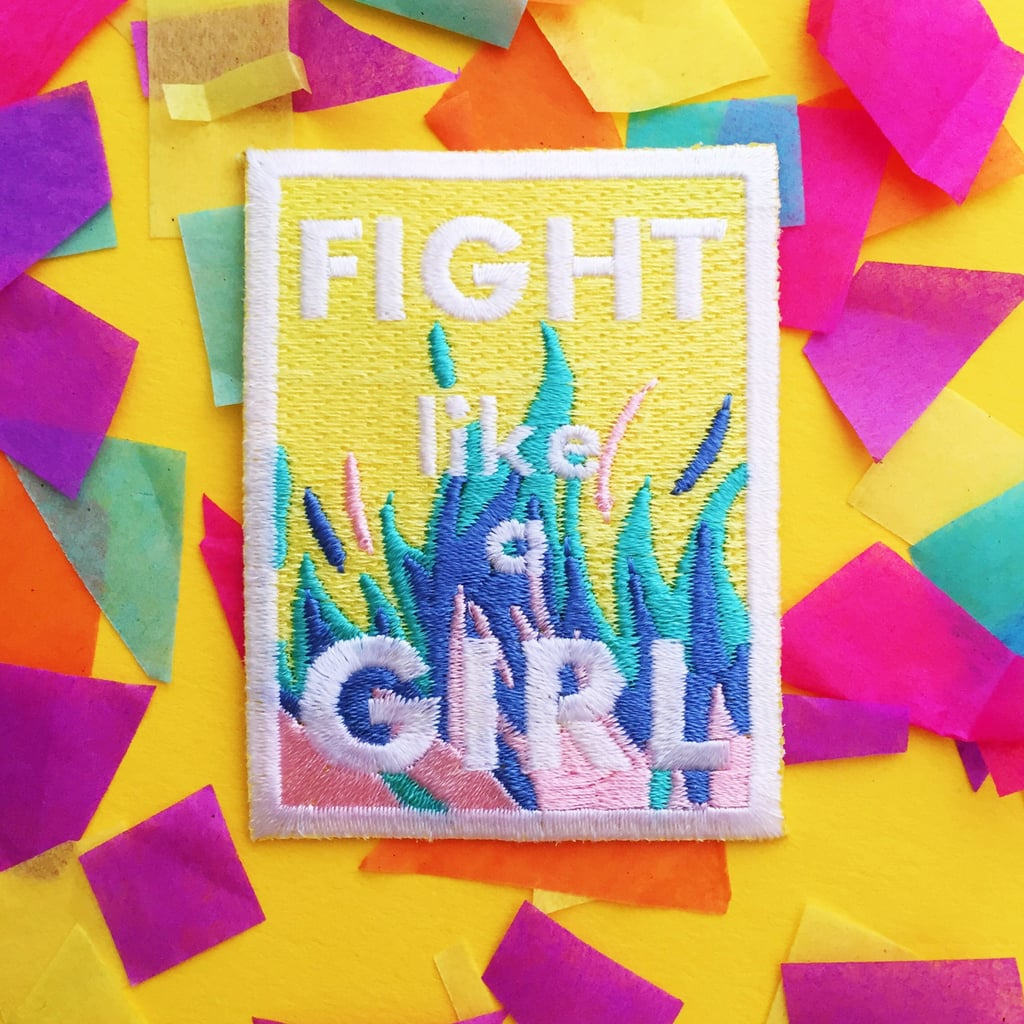"""Fight Like a Girl"" Patch"