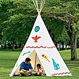Family-Size Cotton Canvas Tepee